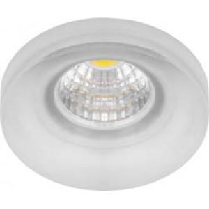 Светодиодный светильник LN003 встраиваемый 3W 4000K прозрачный