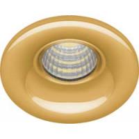 Светодиодный светильник LN003 встраиваемый 3W 4000K золотистый