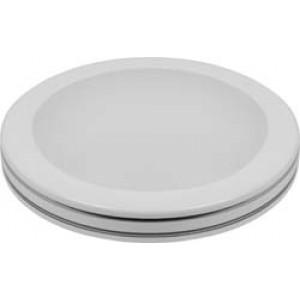 Светодиодный светильник накладной AL579 тарелка 12W 4000K белый