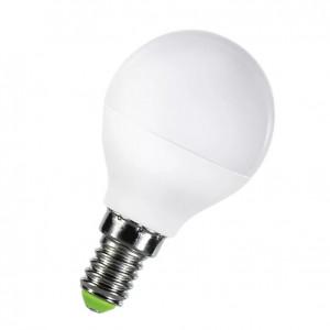 Светодиодная лампа В45-шарик 5Вт Е14 400Лм теплый свет 3000К