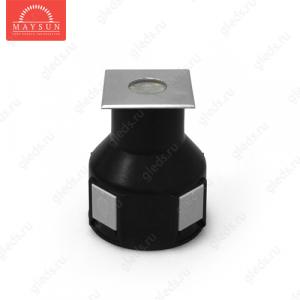 Грунтовый светодиодный светильник B2AS0106 DC24V 3.6W 30' IP67 H71 (50*50) RGB (3 in 1)