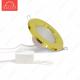 Светодиодный точечный светильник TH-100-5W Универсальный белый d100 мм (Золото корпус)-400lm