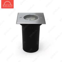 Грунтовый светодиодный светильник A2CD0316S AC240V 6W IP67 H73 (116*116) (Теплый белый)