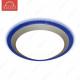 Накладной светодиодный светильник ALR-22 AC220V 22W d430мм H70мм Холодный белый 1760lm (D-06-L) (Синий корпус)