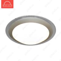Накладной светодиодный светильник ALR-14 AC220V 14W d330мм*H63мм Прозрачный (Теплый белый) 1120lm