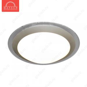 Накладной светодиодный светильник ALR-22 AC220V 22W d430мм H70мм Прозрачный (Теплый белый)