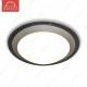 Накладной светодиодный светильник ALR-22 AC220V 22W d430мм-H70мм Холодный белый 1760lm (D-06-L) (Серый корпус)