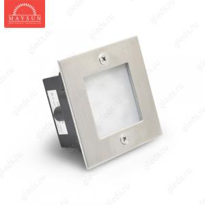 Светодиодный встраиваемый светильник B04B-24L220V-5W (105*105) - Белый
