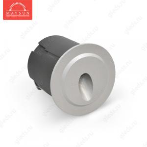 Стеновой встраиваемый светодиодный светильник B1QR0102 AC240V 3.5W IP65 (Холодный белый)