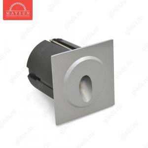 Стеновой встраиваемый светодиодный светильник B1QS0102 AC240V 3.5W IP65 (Теплый белый)