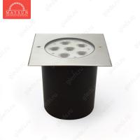 Грунтовый светодиодный светильник B2AE0602S AC240V 13W 30' IP67 H53 (165*165) (Холодный белый)