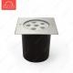 Грунтовый светодиодный светильник B2AE0606S DC24V 13W 30' IP67 H53 (165*165) RGB (3 in 1)