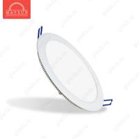 Светодиодный встраиваемый ультратонкий светильник DL-14 AC220V 15.5W Теплый белый (Белый корпус)
