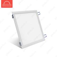 Светодиодный встраиваемый ультратонкий светильник DL-18-300х300 AC220V 18W Теплый белый 1300lm (Белый корпус)