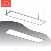 Светодиодный встраиваемый ультратонкий светильник DL-45-300х1200 AC220V 45W IP54 Теплый белый 3100lm