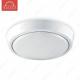 Накладной светодиодный светильник DLR-16 AC220V 16W d310мм*H35мм (Холодный белый) 1568lm (A-05-L)