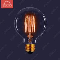 Декоративная лампа накаливания «Vintage» ES-G80 40W 230V