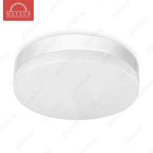 Накладной светодиодный светильник INR-12 AC220V 12W d200мм*H50мм (Холодный белый) 1000lm IP65 (A-02-R)