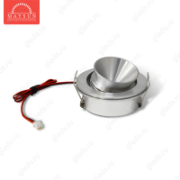 Светодиодный светильник LightLine LBE-101/E-11 DC3.4V 3W 700mA IP20 d50*H28 mm Теплый белый (угол 50') (B-01-R)-150lm