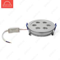 Светодиодный светильник LightLine LBE-111 AC230V 6W IP20 d100*H40 mm (2850-3050К) (C-07-R)