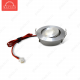 Светодиодный светильник LightLine LBE-201/E-22 AC110V-240V 3W IP20 d50*H23 mm Теплый белый+адаптер ( угол 15') (B-02-R)