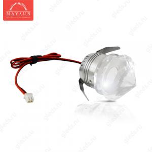 Светодиодный светильник LightLine LBE-605 DC3.4V 3W 700m d40*H58 mm Холодный белый (B-03-R)-180lm