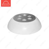 Светодиодный светильник LightLine LBE-N111 AC 230V 6W IP20 d100*H40 mm (6300-7000К)-1080lm