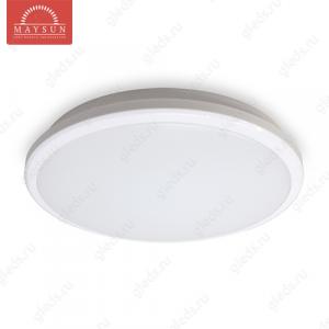 Накладной светодиодный светильник MLR-22W AC220V 22W d380мм*H50мм (Холодный белый) 1930lm (B-07-R)