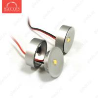 Мебельные светодиодные светильники (Комплект) MS-K303P-2 уг.120' 1LEDx3шт. (3W) c адаптером ТЕПЛЫЙ БЕЛЫЙ