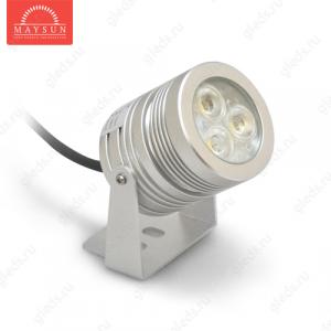Архитектурный светодиодный светильник MS-SLS-20 AC100-265V 9W IP65 (Синий)