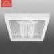 Светильник люминесцентный накладной N-136 прозрачное стекло 36W A267*H45 6400К (B-08-R)O-3