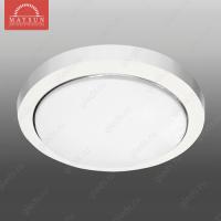 Светильник люминесцентный накладной N-213 матовое стекло 13W d180*H45 3500К (A-03-R) (B-08-L) P-2