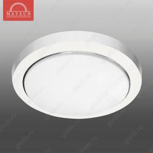 Светильник люминесцентный накладной N-236 матовое стекло 36W d295*H55 3500К (A-02-R) (C-01-R) (D-08-R) R-2