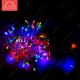 """Светодиодная гирлядна """"Твинкл-лайт"""" PL-100L-10M-220V-RGB 100LED AC230V IP44 10м 6W"""