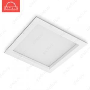 Встраиваемый светодиодный светильник RLS-30 AC220V 30W A259*H69 (221*221) (Холодный белый) 2600lm