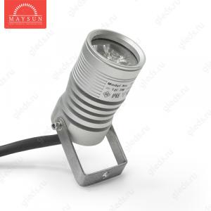 Архитектурный светодиодный светильник SLS-13 АC220V 3W IP65 (Зеленый)