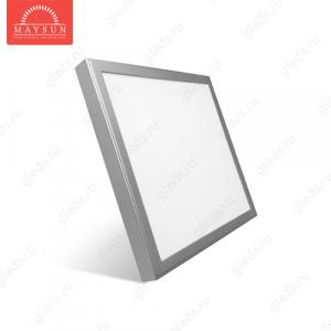 Накладной светодиодный светильник ULS-45 AC170-265V 45W 600*600мм (Теплый белый)