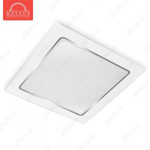 Встраиваемый светодиодный светильник VLS-12 AC220V 12W A230мм*H55мм (196*196) 3500К 960lm (A-06-R)