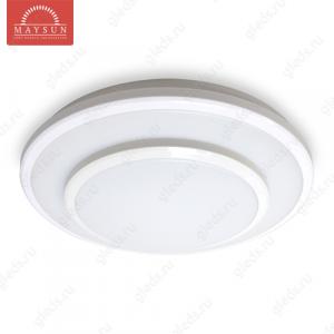 Накладной светодиодный светильник WLR-22W AC220V 22W d380мм*H60мм (Теплый белый) 1200lm