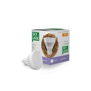 Светодиодная лампа SkyLark 5Вт 12V GU 5.3 3500K