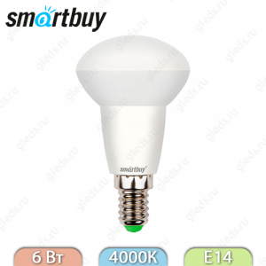 Светодиодная (LED) Лампа Smartbuy R50 6W 4000K E14 550Lm