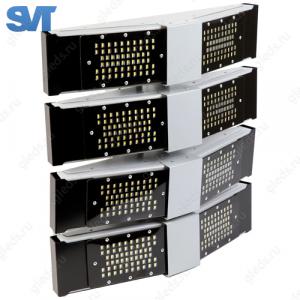 Универсальный светильник Шеврон V-образный 300 Вт 5000К (SVT-Str U-V-75-250-QUATTRO)