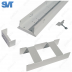 Светильник для торговых залов линейный 30 Вт 3410Лм 5000К 1500×110×92мм (SVT-RTL L-30-1500)