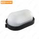 Светильник НПБ1201 черный/овал 100Вт IP54 TDM