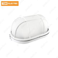 Светильник НПБ1402 белый/овал с реш. 60Вт IP54 TDM