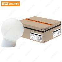 Светильник НББ 64-60-025 УХЛ4 (шар пластик/наклонное основание) TDM