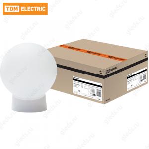 Светильник НББ 64-60-025 УХЛ4 (шар пластик/прямое основание) TDM