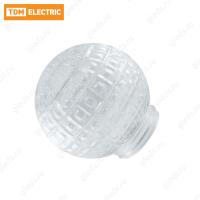 """Рассеиватель шар-стекло (прозрачный) 62-020-А 85 """"Ежик"""" TDM"""