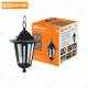 Светильник 6060-05 садово-парковый шестигранник, 60Вт, подвес, черный TDM