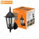 Светильник 6100-01 садово-парковый шестигранник, 100Вт, вверх, черный TDM